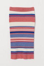 Rib-knit Skirt at H&M