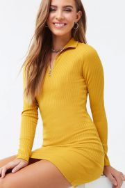 Ribbed Bodycon Dress at Forever 21