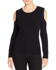 Ribbed Cold Shoulder Sweater by Marled  at Bloomingdales