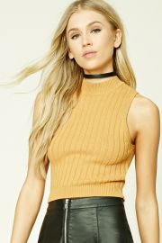 Ribbed Cropped Top   Forever 21 - 2000207068 at Forever 21