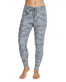 Ribbed-Panel Camo Sweatpants at Bloomingdales
