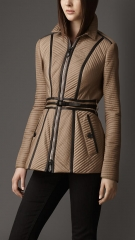 Ribbed Quilt Jacket at Burberry