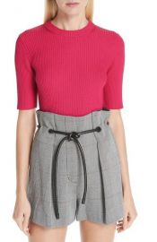 Ribbed Short Sleeve Sweater by 3.1 Phillip Lim at Nordstrom Rack