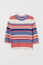 Ribbed Sweater at H&M