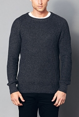 Ribbed sweater at Forever 21