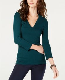 Ribbed top at Macys