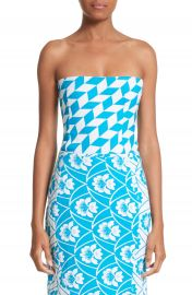 Richard Malone Simple Geo Pattern Bustier at Nordstrom