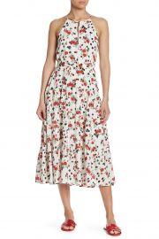 Richards Floral Print Silk Dress at Nordstrom Rack