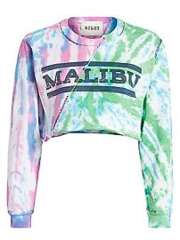 Riley - Tie-Dye Split Malibu Sweatshirt at Saks Fifth Avenue