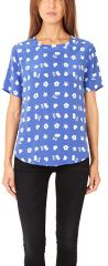 Riley Tee by Equipment at Blue & Cream
