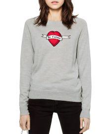Rime Bis Merino Wool Sweater by Zadig & Voltaire at Bloomingdales