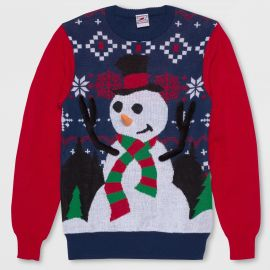 Ring Toss Snowman Ugly Christmas Sweater by Well Worn at Target at Target