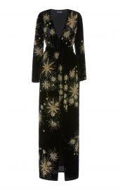 Rita Embellished Velvet Maxi Dress at Moda Operandi