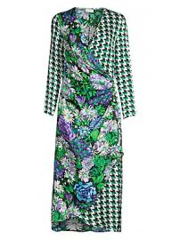 Rixo - Betty Wrap Dress at Saks Fifth Avenue