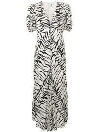 Rixo London Tonya Tiger Print Dress - Farfetch at Farfetch