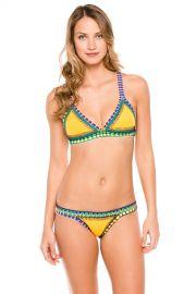 Ro Crochet Trim Bralette Bikini Top at Everything But Water