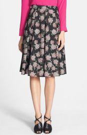 Ro andamp De Floral Organza Circle Skirt at Nordstrom