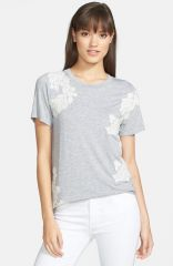 Ro andamp De Lace Appliquand233 Tee at Nordstrom