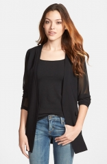 Robbi and Nikki Sheer Sleeve Blazer at Nordstrom