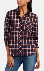 Robbie Plaid Cotton Shirt at Barneys