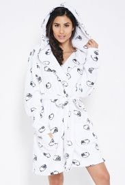 Robe: Plush Sheep Graphic Robe by Forever 21 at Forever 21