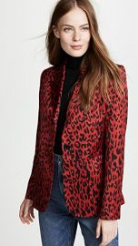 Robert Rodriguez Leopard Blazer at Shopbop