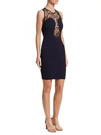 Roberto Cavalli - Lace Bodycon Dress at Saks Fifth Avenue