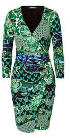 Roberto Cavalli Printed Dress at Stylebop