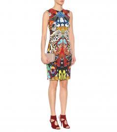 Roberto Cavalli Printed jersey dress at Mytheresa