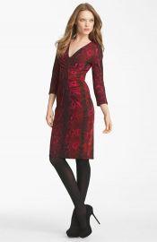 Roberto Cavalli Python Print Jersey Dress at Nordstrom