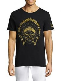 Robin  039 s Jeans - Indian Skull Cotton Tee at Saks Fifth Avenue