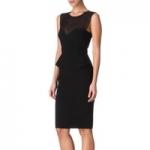 Robin's black Emilio Pucci dress on HIMYM at Selfridges