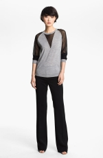 Robin's black and grey sweater at Nordstrom at Nordstrom