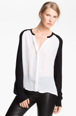 Robins black and white blouse at Nordstrom at Nordstrom