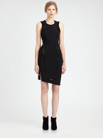 Robins black dress by Helmut Lang at Saks Fifth Avenue