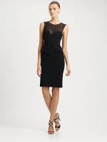 Robins black peplum dress on HIMYM at Saks Fifth Avenue