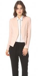 Peach blazer by Theory at Shopbop