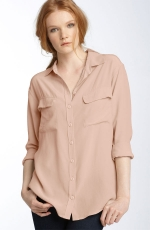 Robins cream blouse at Nordstrom