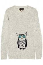 Robin's owl sweater at Net A Porter