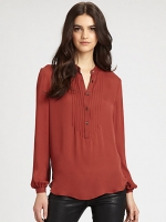 Robins red blouse at Saks at Saks Fifth Avenue
