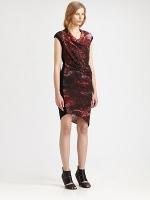 Robins red dress at Saks at Saks Fifth Avenue