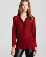 Robin's red top by Sachin and Babi at Bloomingdales