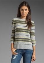 Robin's striped sweater at Revolve at Revolve