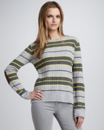 Robin's striped sweater from Neiman Marcus at Neiman Marcus