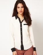 Robins white and black blouse at ASOS at Asos