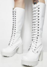 Roc Icy Lash Boots at Dolls Kill