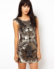 Roccoco Dress by Needle and Thread at Asos