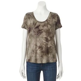 Rock & Republic Studded Tie-Dye Tee at Kohls