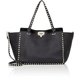 Rockstud Medium Leather Tote Bag valentino at Barneys