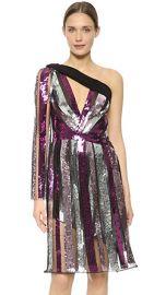 Rodarte Sequin One Shoulder Dress at Shopbop